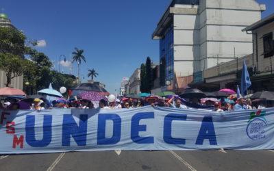 Galería de fotos: Gran manifestación de trabajadores de la CCSS