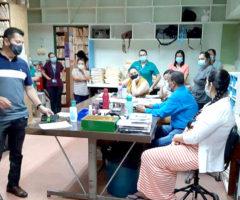 Undeca en Hospital de San Carlos por la protección de la vida de sus trabajadores
