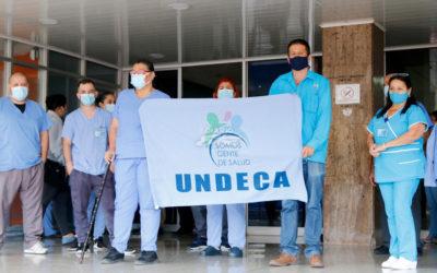 Funcionarios del Calderón exigen vacunas contra Covid-19