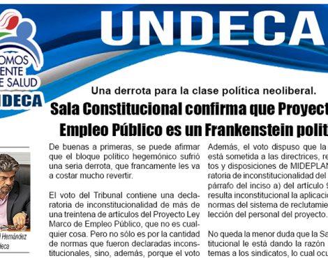 Sala Constitucional confirma que Proyecto de Empleo Público es un Frankenstein político
