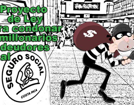 Es inconstitucional condonar deudas a patronos morosos a la CCSS